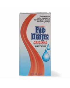 Sterile Redness Reliever Eye Drops, 0.5oz