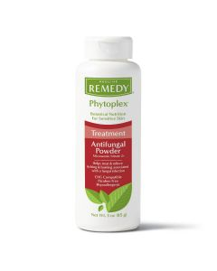 Remedy Phytoplex Skin Care Treat Antifungal Powder with Miconazole, Helps Treat Athlete's Foot, Jock Itch and Ringworm