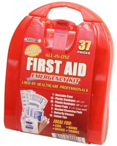 37 Piece Travel First Aid Kit by Rapid Care