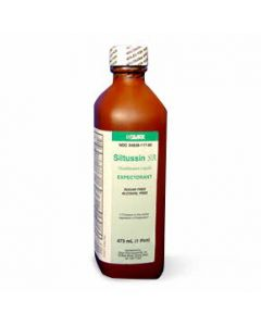 Silarx Siltussin SA Cough Suppressant Syrup, 16oz