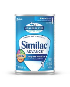 Similac Advanced Earlyshield Infant Concentrated Formula, Stage 1, 13 fl oz (384 mL), Case of 12
