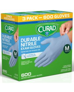 CURAD Powder-Free Nitrile Exam Gloves