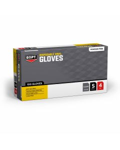 EQPT Powder-Free Vinyl Industrial Gloves