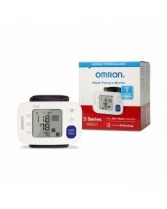 Omron 3 Series Wrist Blood Pressure Monitor 1Ct O-NBP6100H by