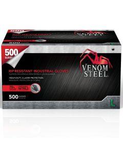 Venom PF Nitrile Steel Industrial Gloves, Size L