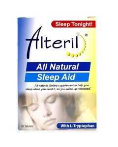 Alteril Sleep Aid Tablets with L-Tryptophan 30 Count OTC001364 by Medline