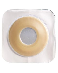SUR FIT Natura Durahesive Pre Cut Skin Barrier with Convex It 1 3/4in Flange and Tape Collar 1 3/8in, 10Ct