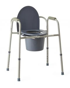 Medline Steel Bedside Commode 1Ct MDS89664H by Medline