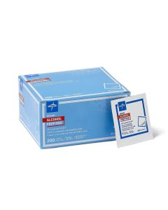 Medline Isopropyl Alcohol Prep Pad 1.125x2.375 200Ct