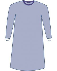Sterile Non-Reinforced Sirus Surgical Gowns with Set-In Sleeves