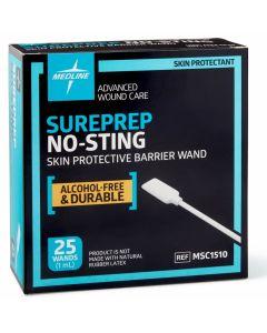 Medline SurePrep No-Sting Skin Barrier 1mL Wand 125Ct