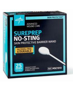 Medline SurePrep No-Sting Skin Barrier 3mL Wand 100Ct