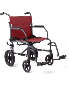 Transport Wheelchair with Microban Antimicrobial Protection