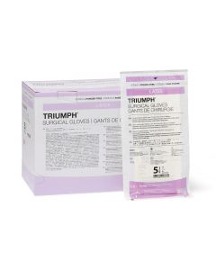 Triumph Latex Surgical Gloves, Sizes 5.5 - 9