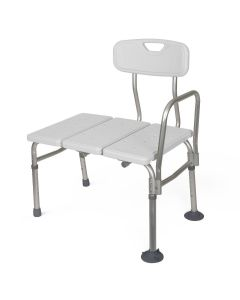 Unpadded Transfer Bench 300 lb Weight Capacity