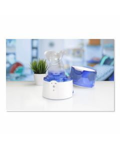 Crane Droplet Ultrasonic Cool Mist Humidifier, 6.75inL x 10.5inW x 6.75inH, 0.5 Gallon, One