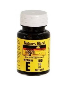 Vitamin E 100 IU Softgels