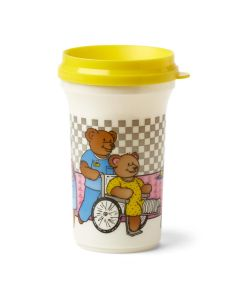 Plastic Sipper Cup, Pediatric, 12 oz, Case of 24