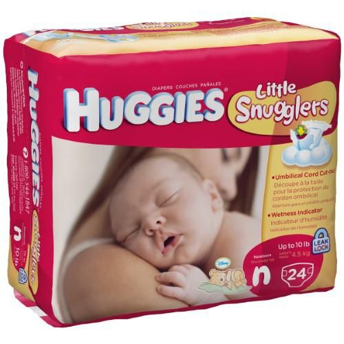 Huggies UltraTrim Newborn Diaper, Size N - Shop All PF24042 by Huggies Little Snugglers