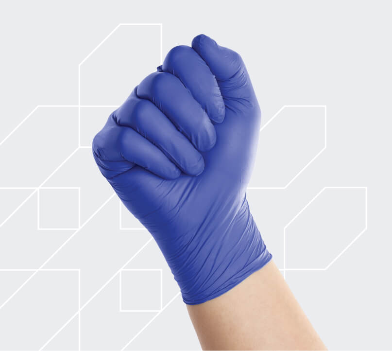 FitGuard Touch Powder-Free Nitrile Exam Gloves