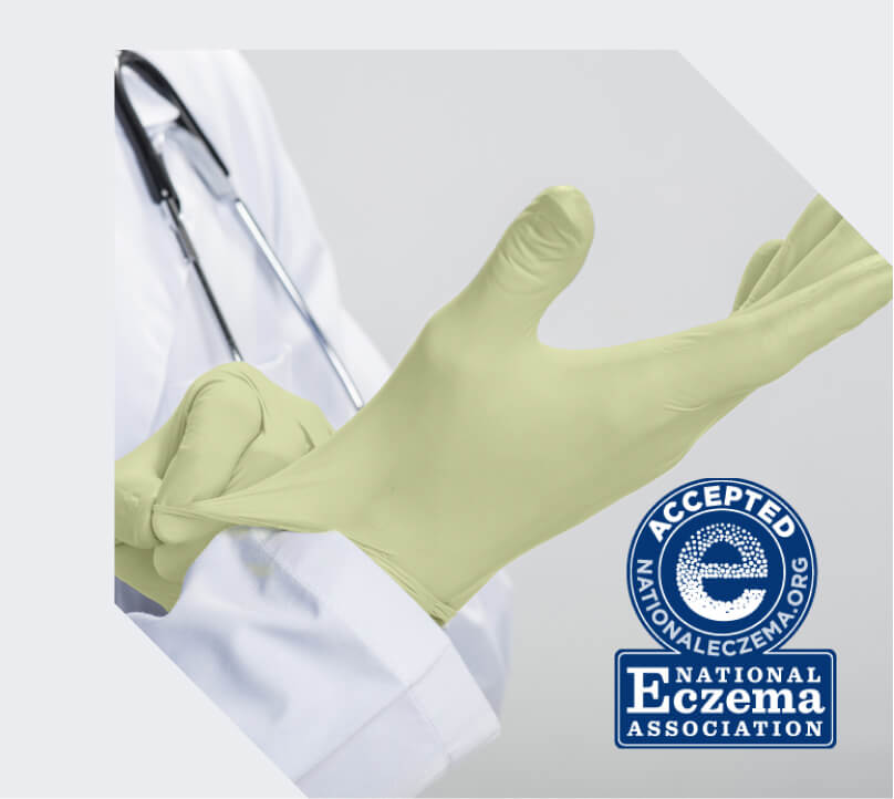 Restore Sense Nitrile Gloves with maxOat+